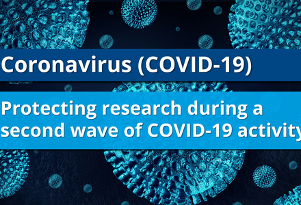 CSO Statement on guidance to protect research during a second wave of COVID-19 activity